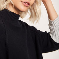 Buttoned Knit Jumper