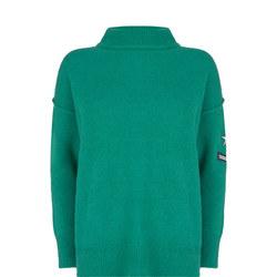 Badge Detail Sweater