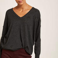 Beaded Star Sweater