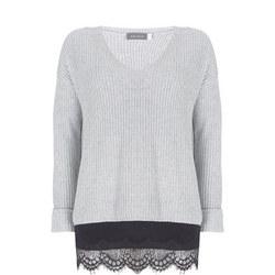 Wrap Back Layered Sweater
