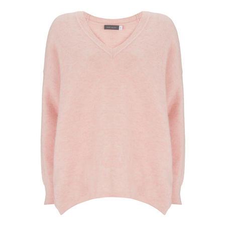 Sequin Elbow Cocoon Sweater