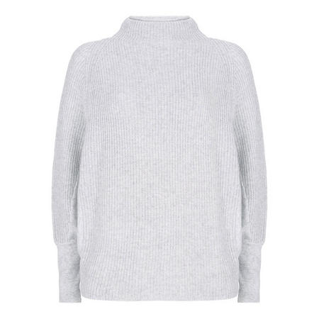 Ribbed Batwing Sweater