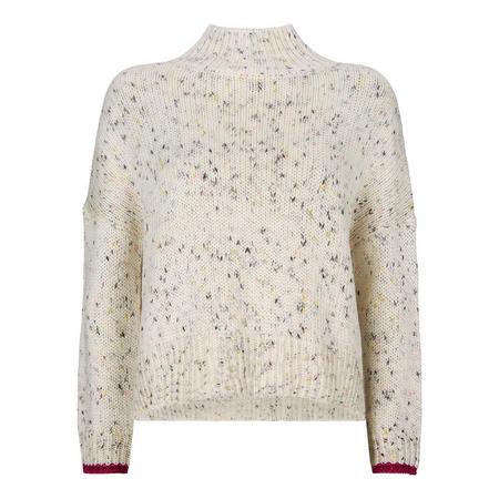 Flecked Fisherman Sweater