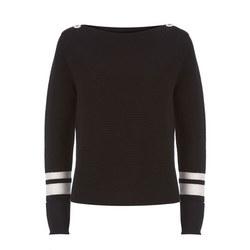 Striped Ottoman Sweater