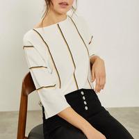 Vertical Striped Sweater