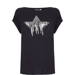 Sequined Star T-Shirt