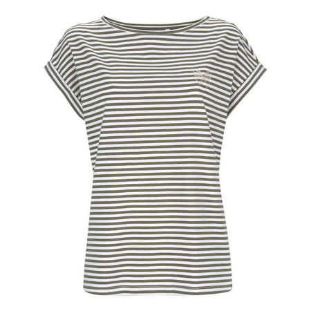 Stripe Butterfly T-Shirt
