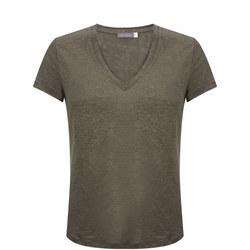 Shimmer V-Neck T-Shirt