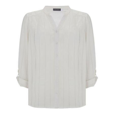 Cotton Voile Shirt White