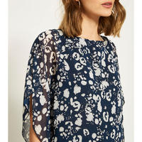 Louise Printed Layered Top