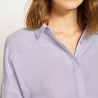 Lilac Cotton Shirt Purple