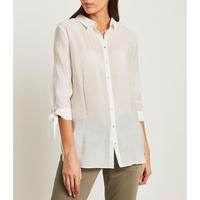 Georgette Shirt White