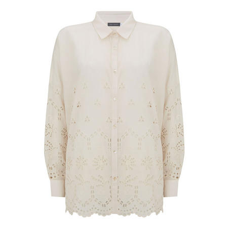 Nude Anglaise Broderie Shirt