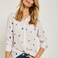 Star Embroidered Shirt
