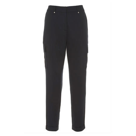 Ink Cargo Sports Pant Blue