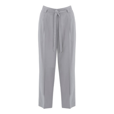 Dove Belted Tapered Trouser