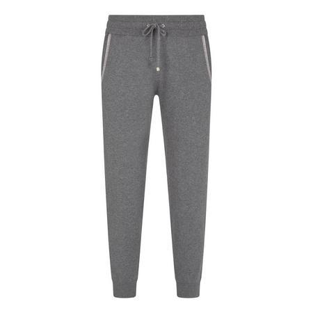 Grey Cotton & Cashmere Jogger