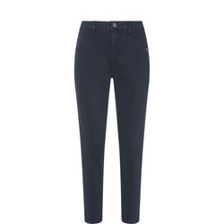 Washed Ink Skinny Trouser