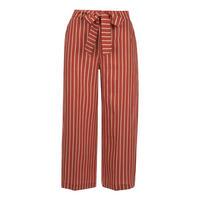 Striped Tie Waist Trouser