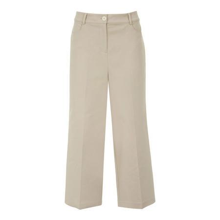 Crop Wide Leg Trouser