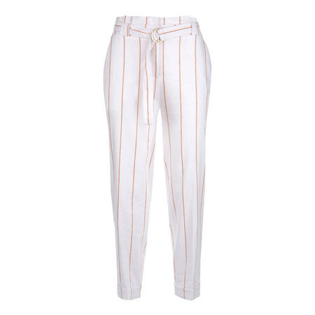 Striped Paperbag Trouser