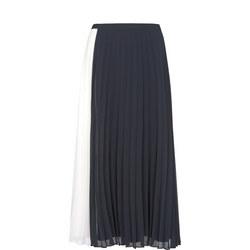 Ivory & Ink Pleated Skirt