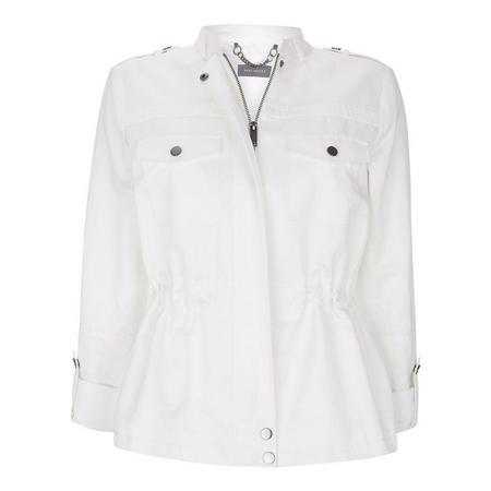 White Casual Jacket White