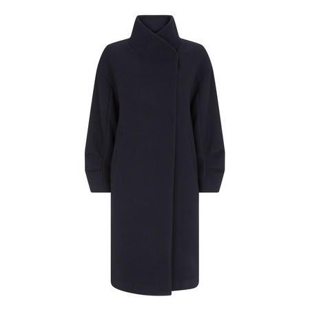 Wrap Collar Coat