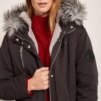 Luxe Faux Fur Parka