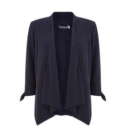 Ink Tie Sleeve Jacket Blue