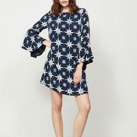Natalie Print Dress Multicolour
