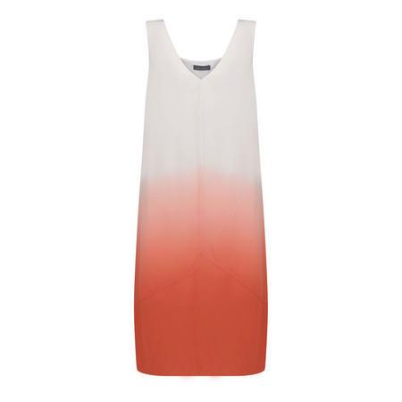 Ombre Crepe Dress