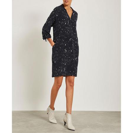 Shae Print Zipped Cocoon Dress