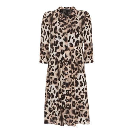 Audrey Print Shirt Dress