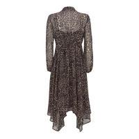 Tessa Print Midi Shirt Dress