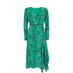 Emma Print Midi Dress