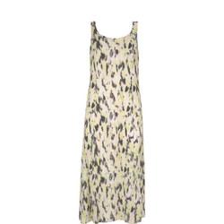 Haithe Print Cocoon Dress