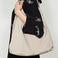 Devon Mink Stud Tassel Shoulder Bag Brown