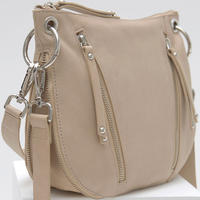 Claire Leather Zip Bag