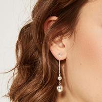 Twin Drop Earring
