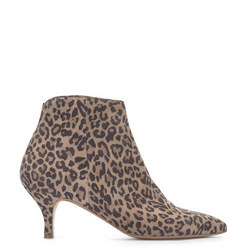 Tommie Leopard Ankle Boot