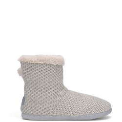 Knitted Slipper Boot