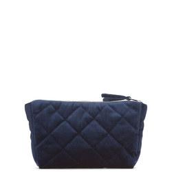 Velvet Quilted Make Up Bag