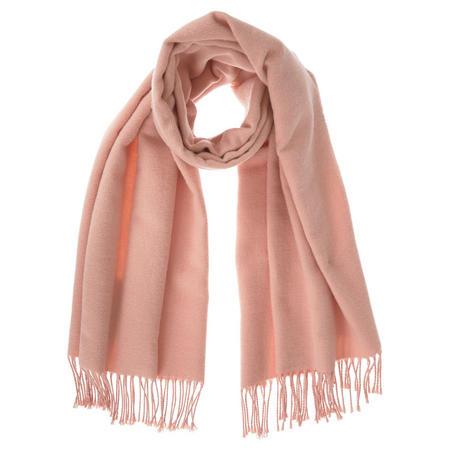 Solid Blanket Scarf Pink