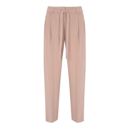 Blossom Belted Tapered Trouser Pink