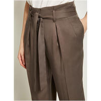 Mocha Paperbag Trouser Brown