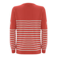 Watermelon Stripe & Heart Knit Red