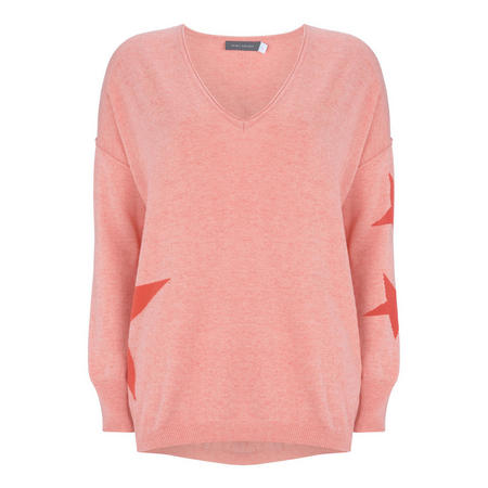 Apricot Star Cocoon Knit Orange