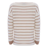 Metallic Stripe Insert Knit Multicolour