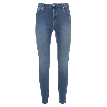 Savannah Light Indigo Skinny Jean Blue